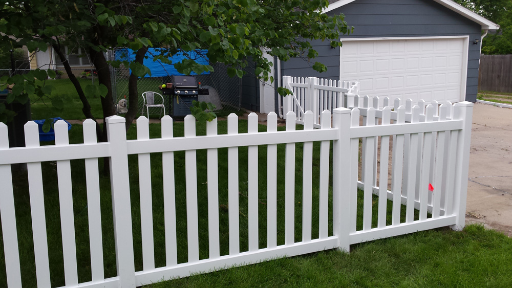Country Estate Vinyl Fence All Seasons Fence Vinyl Fence