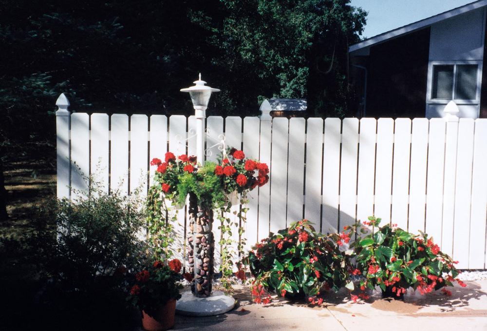 Vinyl Denver Fence Style Ravenna Nebraska